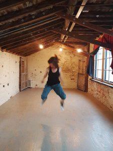 Dancer Tess D'Souza