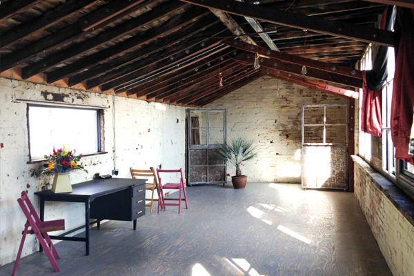 hayloft creation studio space