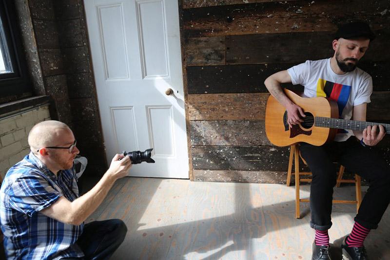 junk boy music filming studio