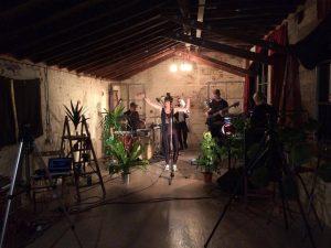 lu ami music video shoot