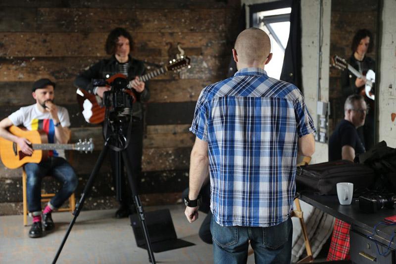 music photography studio space