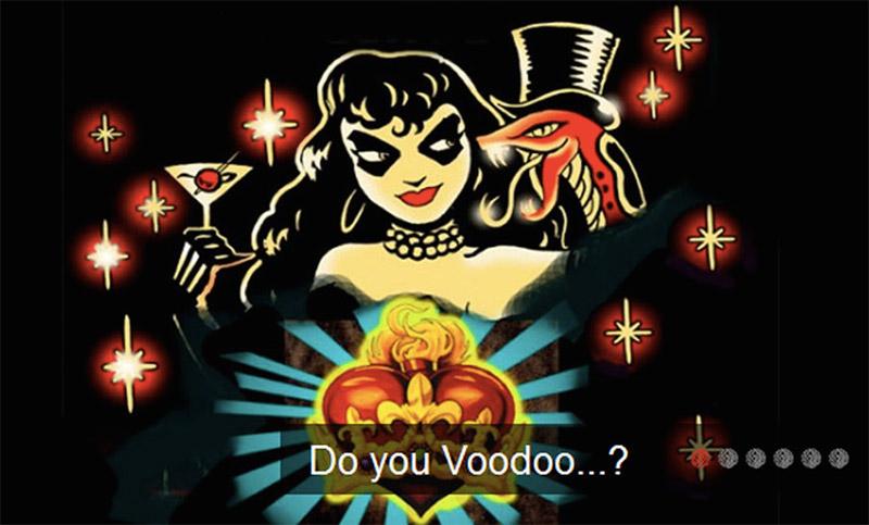 voodoo vaudeville rehearsal studio